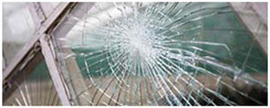 Enfield Town Smashed Glass